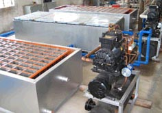 Ice block making machine 2